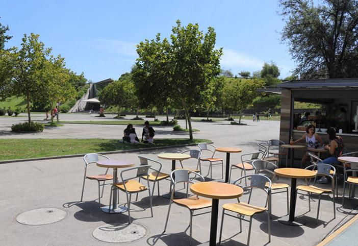 Cafetería parque