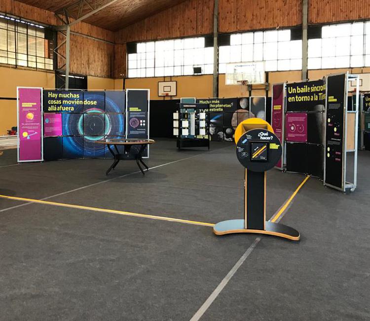 MIM llega al nuevo Cecrea Vallenar con exhibición sobre el Sistema Solar