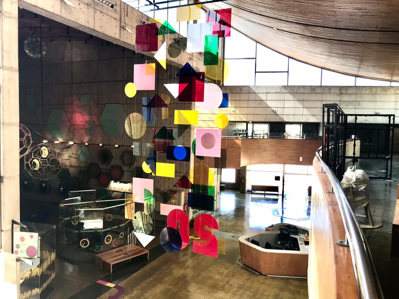 Vista del móvil hacia Arte y Ciencia